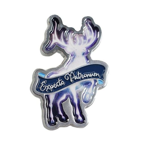 Harry Potter Expecto Patronum Pin Badge